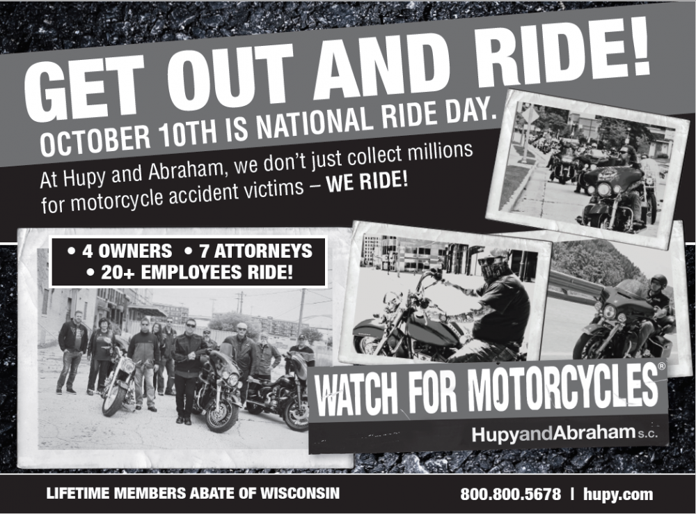 Get out and ride!