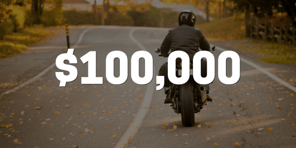 Motorcycle accident case result